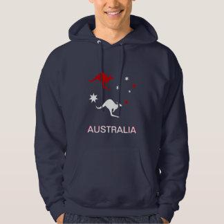 Australia Roo & Cross Hoody