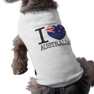 Australia Sleeveless Dog Shirt