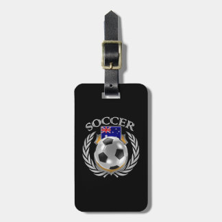 Australia Soccer 2016 Fan Gear Luggage Tag