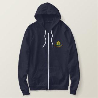 Australia Soccer Embroidered Fleece Hoodie