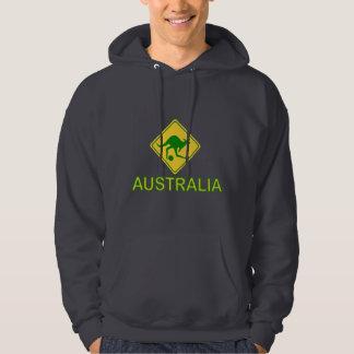 Australia Soccer Kangaroo Hoodie