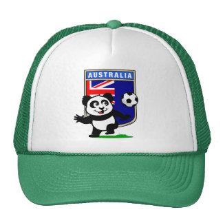 Australia Soccer Panda Cap