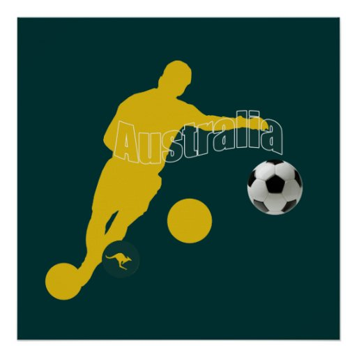 Australia Soccer T-shirts and football fans gifts Posters