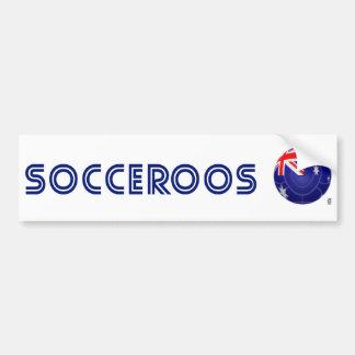 Australia - Socceroos Football Bumper Stickers