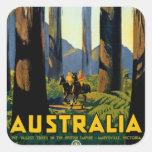 Australia Square Sticker