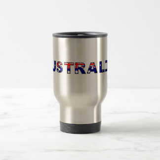 Australia Stainless Steel 15 oz Travel Mug