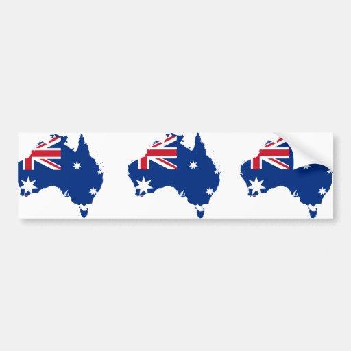 Australia stub, Australia Bumper Sticker