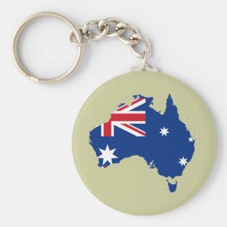 Australia stub, Australia Key Ring