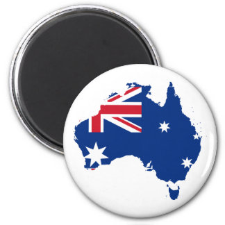 Australia stub, Australia Refrigerator Magnet