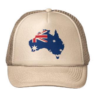 Australia stub Australia Trucker Hats