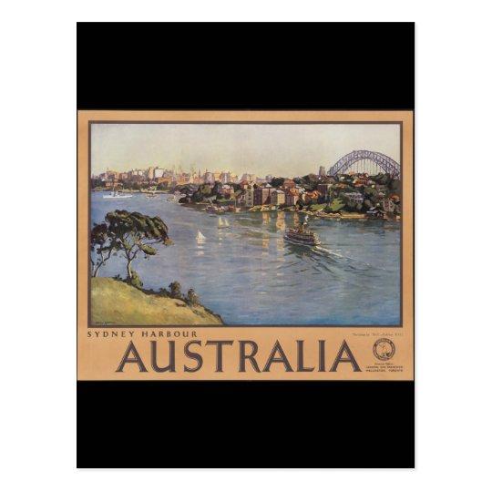 Australia Sydney Harbour Postcard