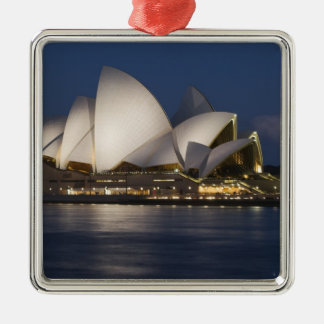 Australia, Sydney. Opera House at night on Christmas Ornament