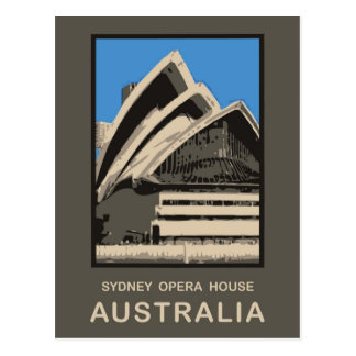 Australia Sydney Opera House Postcard