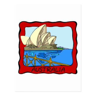 Australia - Sydney Opera House Postcard