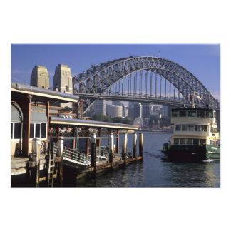 Australia Sydney Passenger ferry one from Photo Print