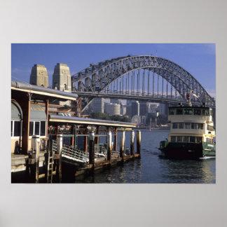 Australia, Sydney, Passenger ferry, one from Poster