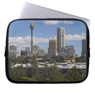 Australia, Sydney, Potts Point. Sydney skyline. Laptop Sleeve