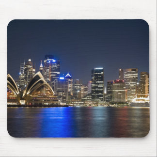 Australia, Sydney. Skyline with Opera House seen Mouse Pad