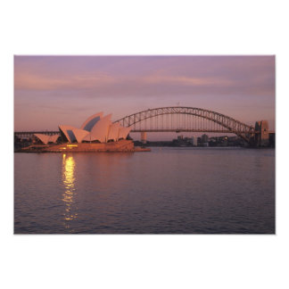 Australia, Sydney, Sydney Opera House built Photo Print
