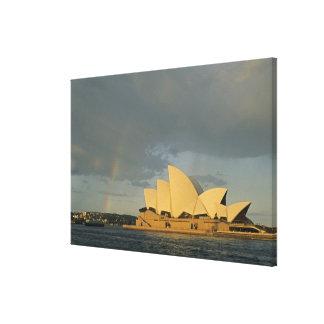 Australia, Sydney, Sydney Opera House, Canvas Print