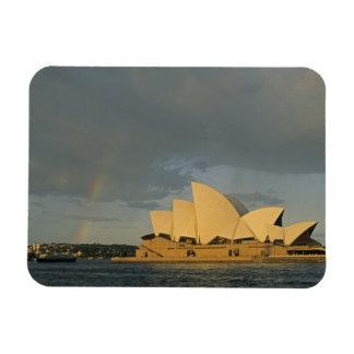 Australia, Sydney, Sydney Opera House, Rectangular Photo Magnet