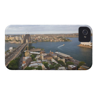 Australia, Sydney, view over The Rocks & Sydney iPhone 4 Covers