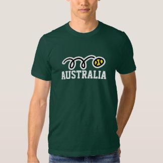 Australia tennis t-shirt for men women & kids