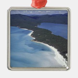 Australia, The Whitsundys, Queensland. Hill Christmas Ornament