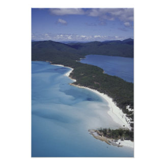 Australia, The Whitsundys, Queensland. Hill Poster