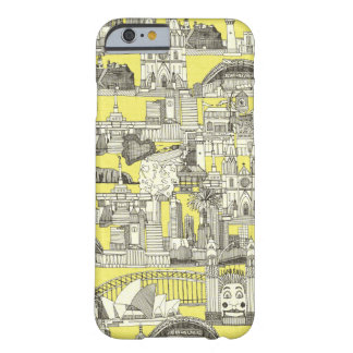 Australia toile de jouy barely there iPhone 6 case