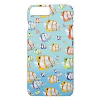 Australia Tropical fish travel poster iPhone 7 Plus Case