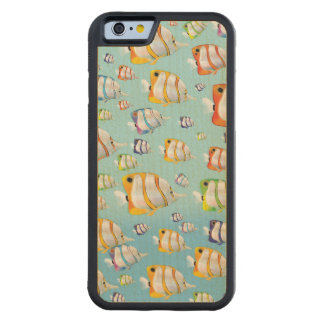 Australia Tropical fish travel poster Maple iPhone 6 Bumper