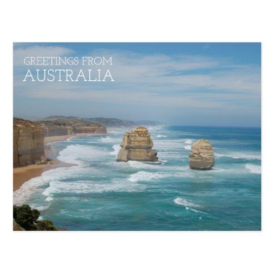 Australia Twelve Apostles Postcard
