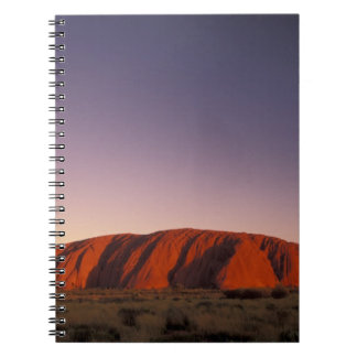 Australia, Uluru Kata Tjuta National Park, Uluru 2 Notebooks