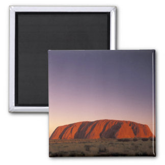 Australia, Uluru Kata Tjuta National Park, Uluru 2 Square Magnet