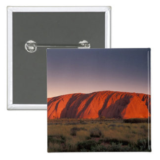 Australia, Uluru National Park. Uluru or 15 Cm Square Badge