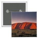 Australia, Uluru National Park. Uluru or Pinback Buttons