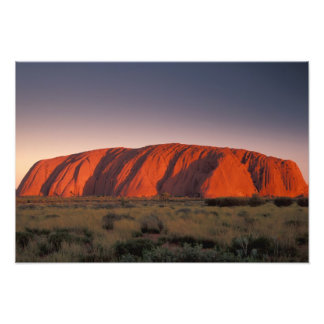 Australia, Uluru National Park. Uluru or Photo