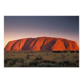 Australia, Uluru National Park. Uluru or Photograph