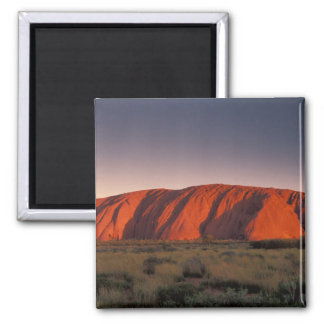 Australia, Uluru National Park. Uluru or Square Magnet