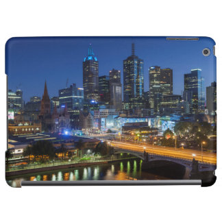 Australia, Victoria, Melbourne, skyline with