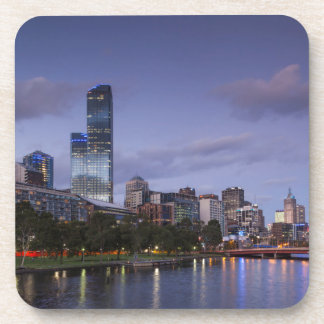Australia, Victoria, Melbourne, skyline with 2 Coaster