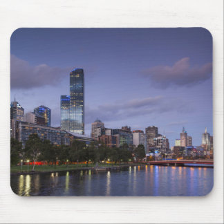 Australia, Victoria, Melbourne, skyline with 2 Mouse Mat