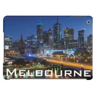 Australia, Victoria, Melbourne, skyline with iPad Air Cover