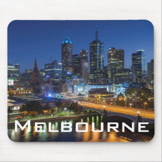 Australia, Victoria, Melbourne, skyline with Mouse Mat