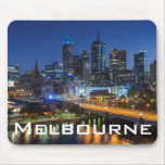 Australia, Victoria, Melbourne, skyline with Mouse Pad