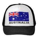 Australia Vintage Flag Mesh Hats