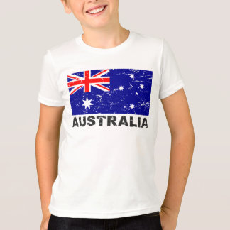 Australia Vintage Flag T-Shirt
