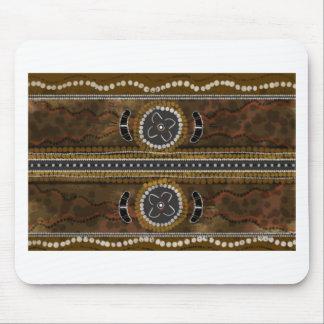 Australian Aboriginal Art - Food Gathering Mouse Mat