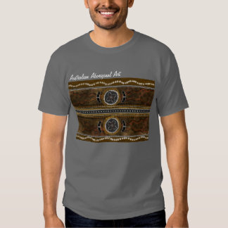 Australian Aboriginal Art - Food Gathering Tee Shirt